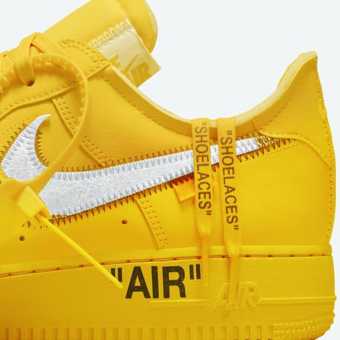 gold university Air Force 1 nike