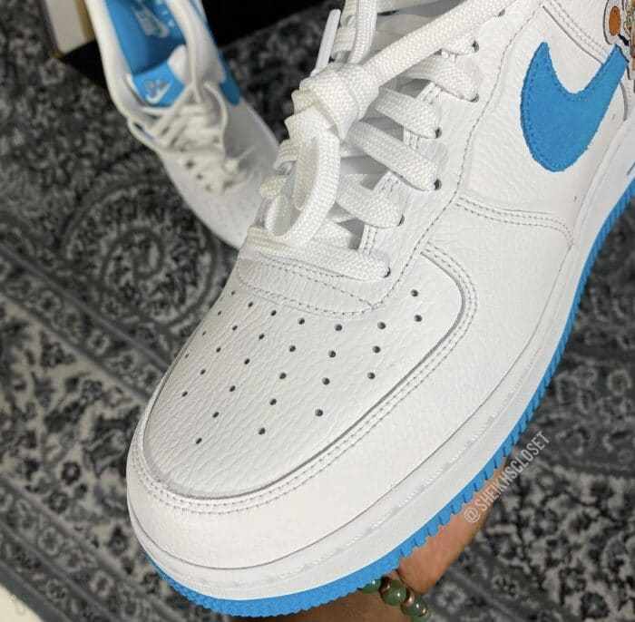 white Air Force 1 hare
