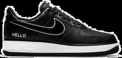"Nike AIR FORCE 1 '07 LX ""HELLO"" CZ0327-001"