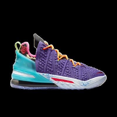 "Nike LEBRON XVIII ""PSYCHIC PURPLE"" DM2813-500"