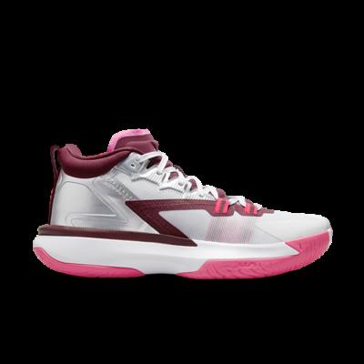 Jordan Zion 1 White/Metallic Silver-Hyper Pink pink DA3130-100