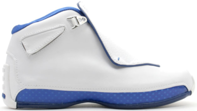 Jordan 18 White Sport Royal (GS) 305886-101
