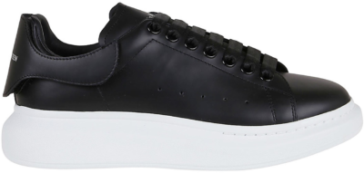 Alexander McQueen Interchangable Heel Tab Black 625161WHYB91357