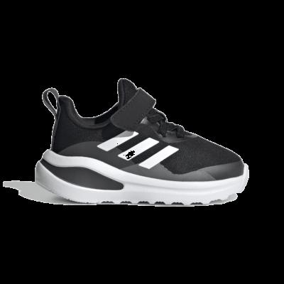 adidas FortaRun Elastic Lace Top Strap Hardloopschoenen Core Black FZ5499