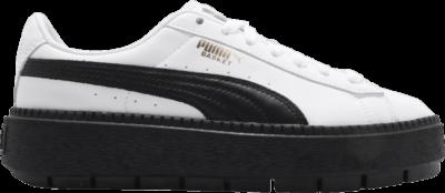 Puma Wmns Platform Trace L 'White' White 366109-02