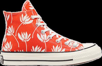 Converse Wmns Chuck 70 High 'Summer Spirit – Bright Poppy' Orange 571919C