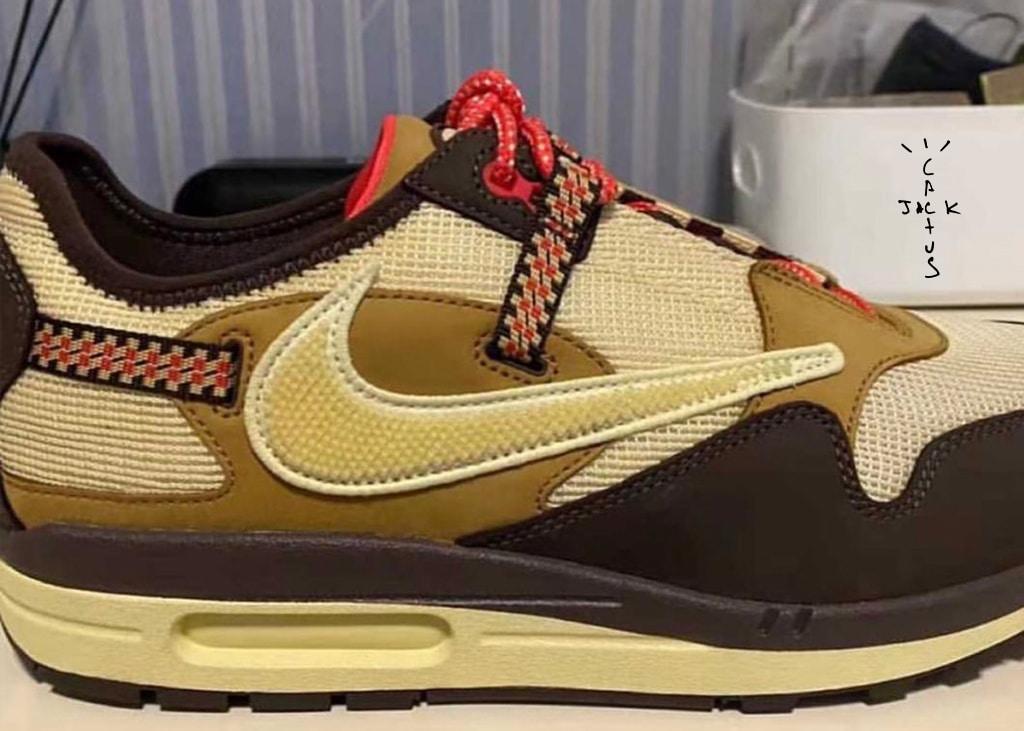 Betere foto's opgedoken van de opkomende Nike Air Max 1 x Travis Scott