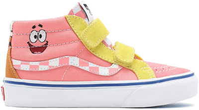 Vans Sk8 Hi Spongebob Yellow VN00018T9ES1