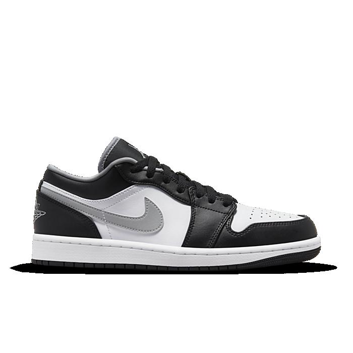 Jordan 1 Low Black White Grey 553558-040