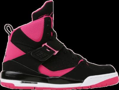 Air Jordan Jordan Flight 45 High IP GS 'Black Vivid Pink' Black 837024-008