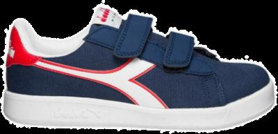 Diadora Game Canvas PS Kinderen Sneakers 101.174380-C3803 blauw 101.174380-C3803