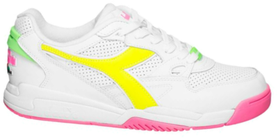 Diadora Heritage Fluo Pack Rebound Ace Sneakers 501.175546-C3772 wit 501.175546-C3772