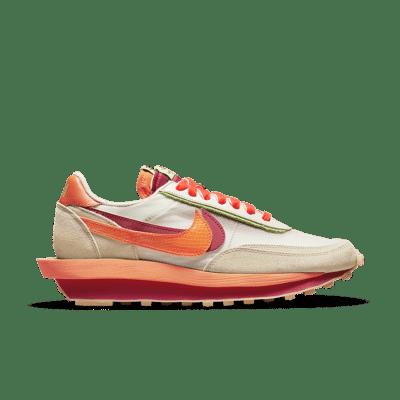 Nike LDWaffle x sacai x CLOT 'Orange Blaze' Orange Blaze DH1347-100