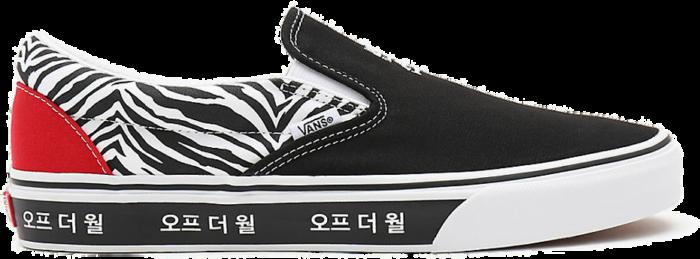 VANS Korean Typography Classic Slip-on  VN0A33TB9HW