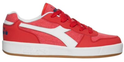 Diadora Playground Canvas GS Kinderen Sneakers 101.173112-45033 rood 101.173112-45033