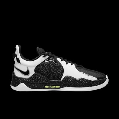 Nike PG 5 Black/Black-White-Volt Array CW3143-003