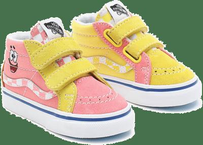 Vans Sk8 Hi Spongebob Yellow VN0A5DXD9ES1