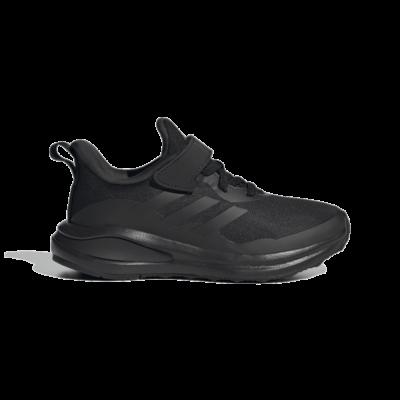 adidas FortaRun Elastic Lace Top Strap Hardloopschoenen Core Black GY7601