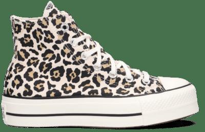 Converse Wmns Chuck Taylor All Star Lift High 'Leopard' Brown 570915C