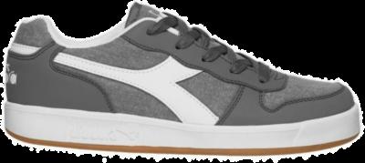 Diadora Playground Canvas GS Kinderen Sneakers 101.173112-75069 grijs 101.173112-75069