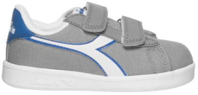 Diadora Heritage Game Canvas TD Kinderen Sneakers 101.174381-75070 grijs 101.174381-75070