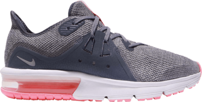 Nike Air Max Sequent 3 GS 'Light Carbon' Grey 922885-003