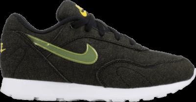 Nike Wmns Outburst LX 'Black Bright Citron' Black AT4687-001