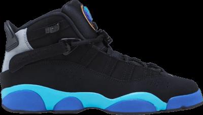Air Jordan Jordan 6 Rings GS 'Aqua' Black 323419-040