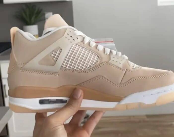 jordan 4 shimmer Nike Air