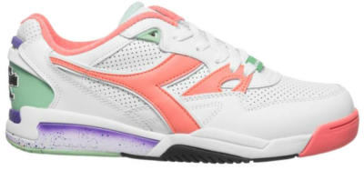 Diadora Rebound Ace Double Action Premium leren sneakers 501.173079-C8001 wit 501.173079-C8001