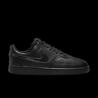 Nike Court Vision Low Zwart CD5434-003