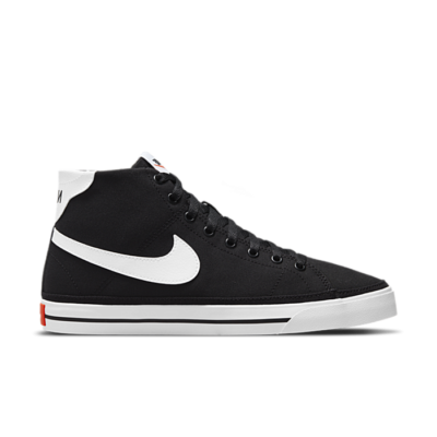 Nike Court Legacy Canvas Mid Zwart DD0161-001