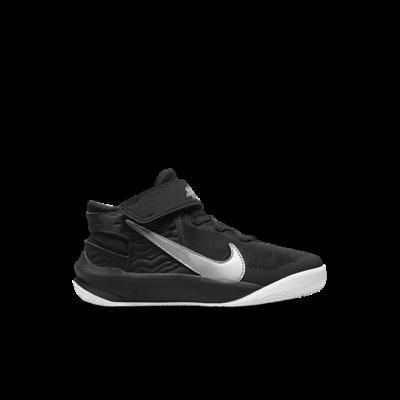 Nike Team Hustle D 10 FlyEase Zwart DD7302-004
