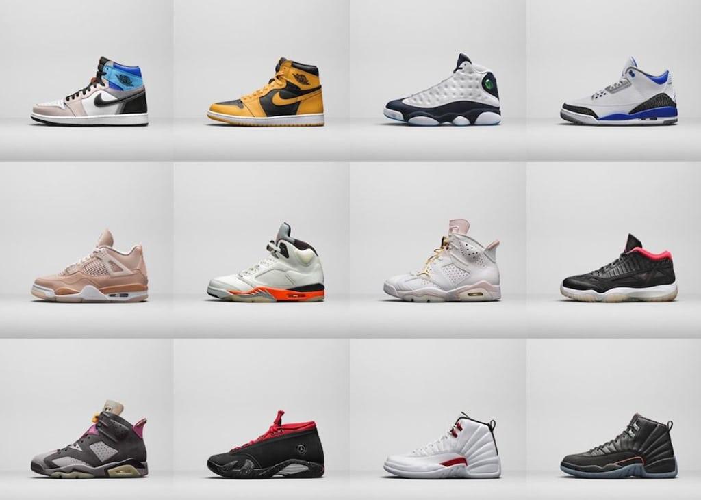 Nike onthult de Air Jordan line-up van aanstaand herfst seizoen