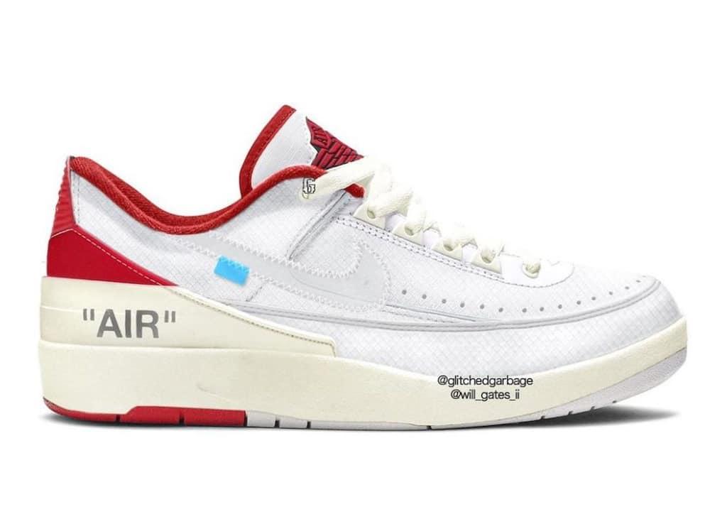 Dit jaar komt er een Air Jordan 2 Low x Off-White sneaker uit