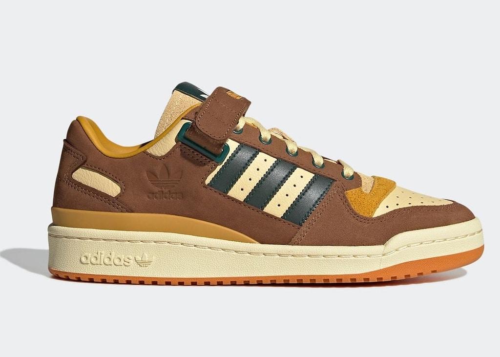 Met deze adidas Forum low sneakers ben je alvast ready voor de herfst