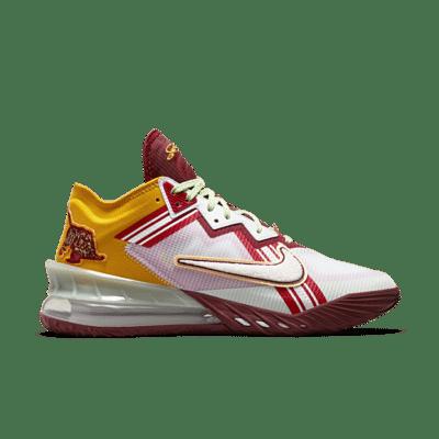Nike LeBron 18 Low Mimi Plange Higher Learning CV7562-102