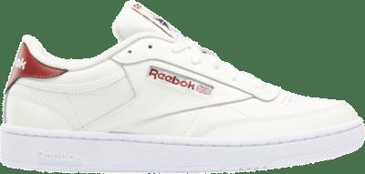 Reebok Club C 85 Chalk / Chalk / Red Ember GX7557