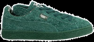 PUMA x Tinycottons Basket Furry PS Kinderen Sneakers 366193-02 groen 366193-02