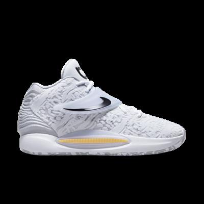 Nike KD 14 White/Black-Wolf Grey-Melon Tint Array CW3935-100