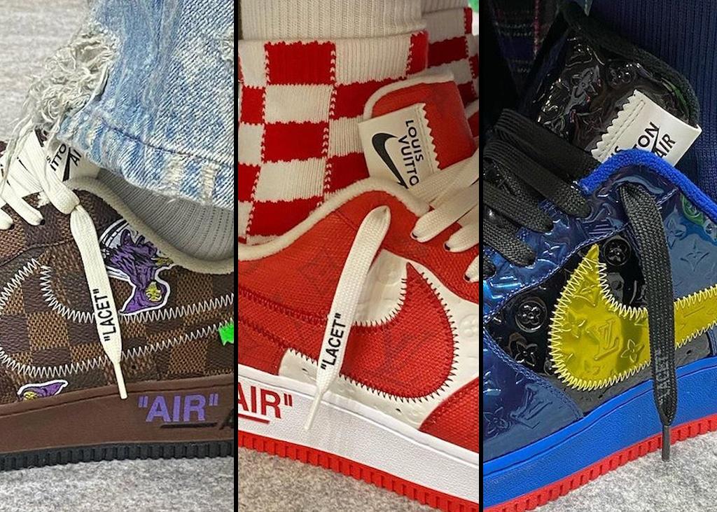 Virgil strikes again: Samenwerking onthuld tussen Nike AF1 en Louis Vuitton
