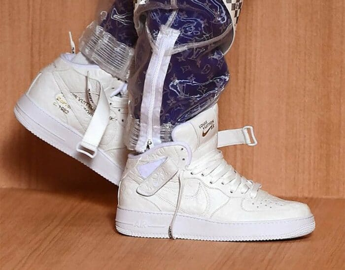 air force 1 low high mid Louis vuitton