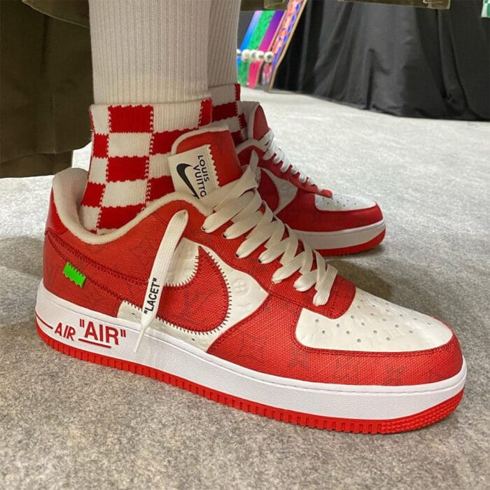 Vuitton low Air Force 1 nike
