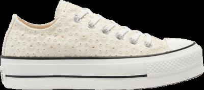 Converse Wmns Chuck Taylor All Star Platform Low 'Broderie' Cream 571281C
