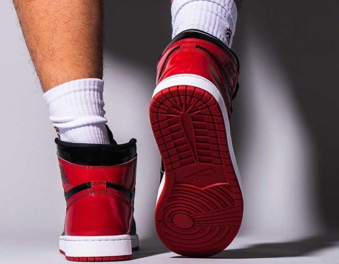 Nike Air Jordan 1 bred patent