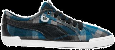 PUMA Corsica Plaid Dames Sneakers 352300-02 zwart 352300-02