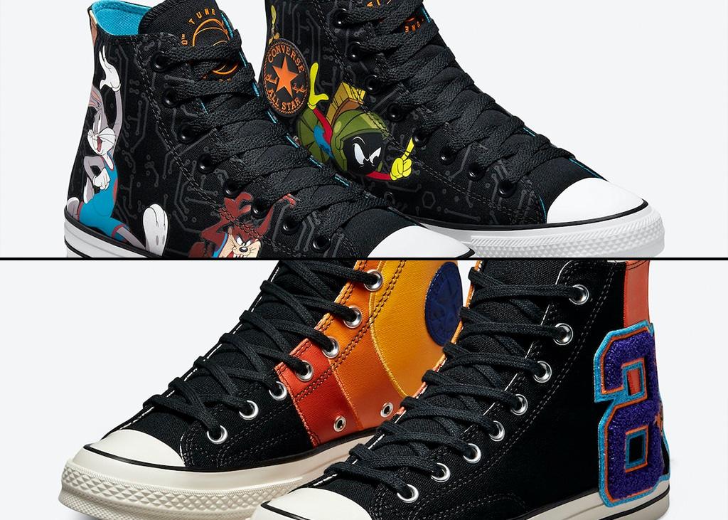 Ook Converse komt binnenkort met een Space Jam 2 collaboration