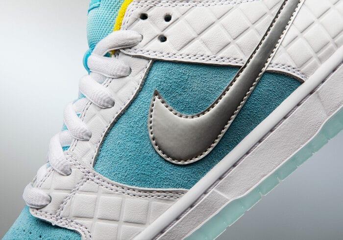 close up Nike SB dunk low