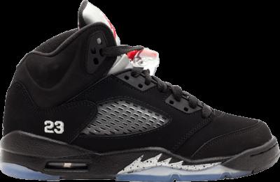 Air Jordan 5 Retro GS 'Black Metallic Silver' 2011 Black 440888-010