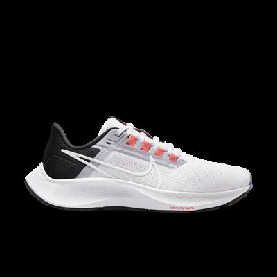 Nike Air Zoom Pegasus 38 White Black Provence Purple (W) CW7358-500
